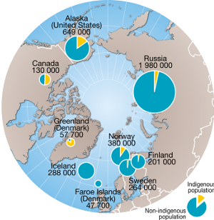 Rights Of Indigenous People Global Issues - Map of us and canada indiginous popullationns