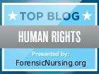 Forensic Nursing's 2010 Top Human Rights Blog Award