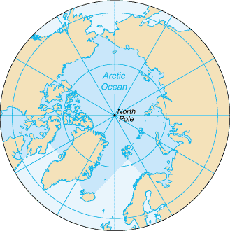 Canada and Russia appear to have the largest borders along the Arctic Ocean, despite the disputes