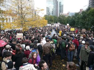Over 1,000 people convened at Victoria Square to take part in the peaceful democratic expression