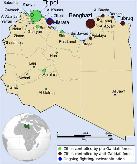 Crisis in Libya Global Issues