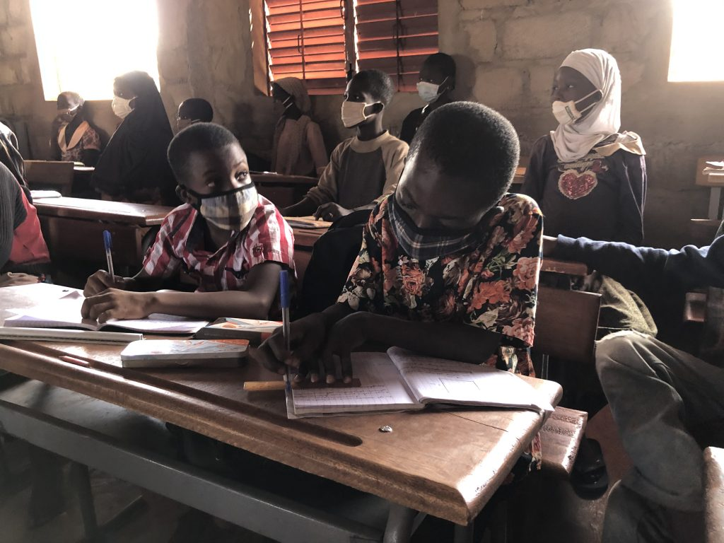 While the security crisis in Burkina Faso has seen more than 2,300 schools close, the COVID-19 pandemic further resulted in a nationwide shutdown of schools during several months in 2020. Courtesy: Education Cannot Wait (ECW)