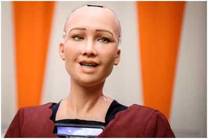 robot named Sophia 2