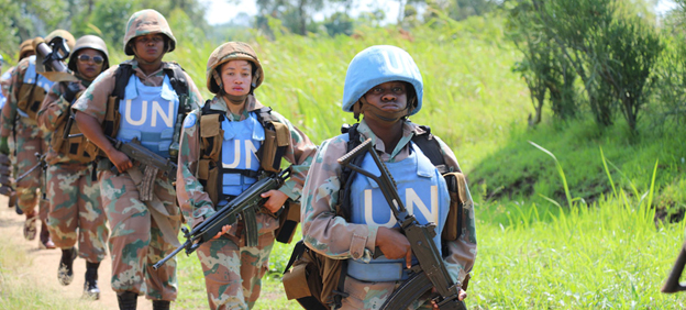 Female peacekeepers  - Multilateral Peace Operations in 2020: Developments & Trends